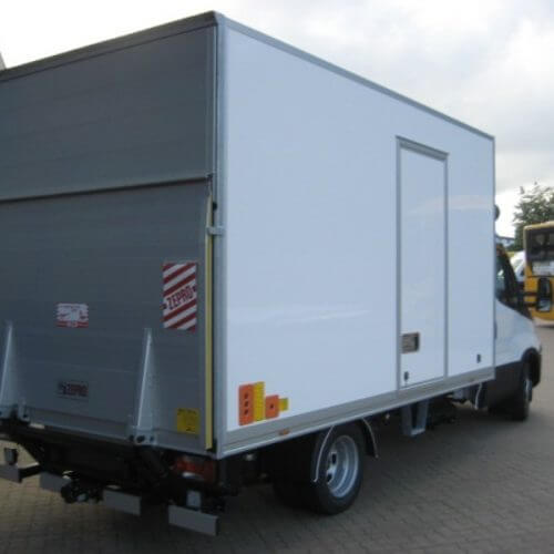 iveco daily kasse/lift 1