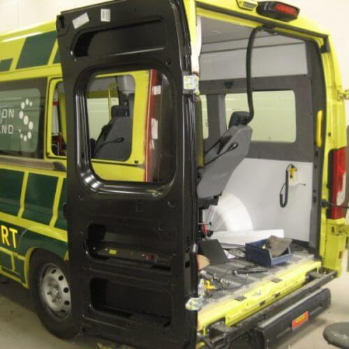 ambulance skade reparation