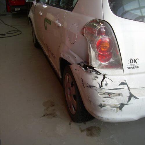 bil skade