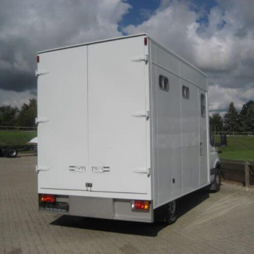 Specialopbygning - Hestetransporter 4